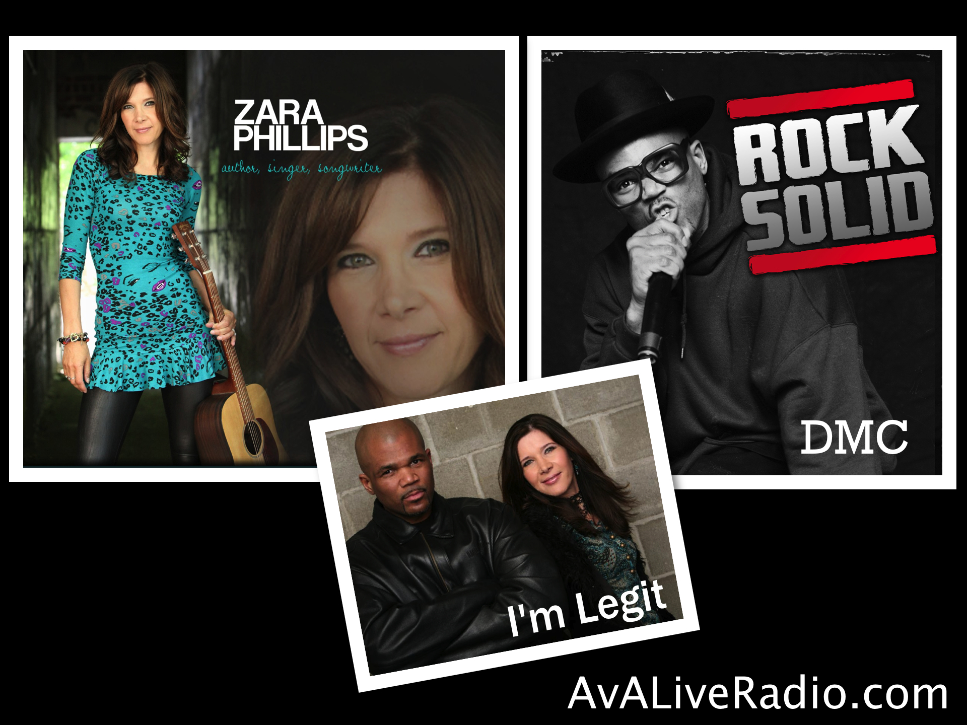 "A.V.A Live Radio Featured Artists: Zara Phillips and Darryl ""DMC"" McDaniels"