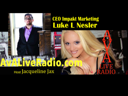 {Podcast} Branding, Marketing and Social Media Tips with Jacqueline Jax and Luke L Nesler