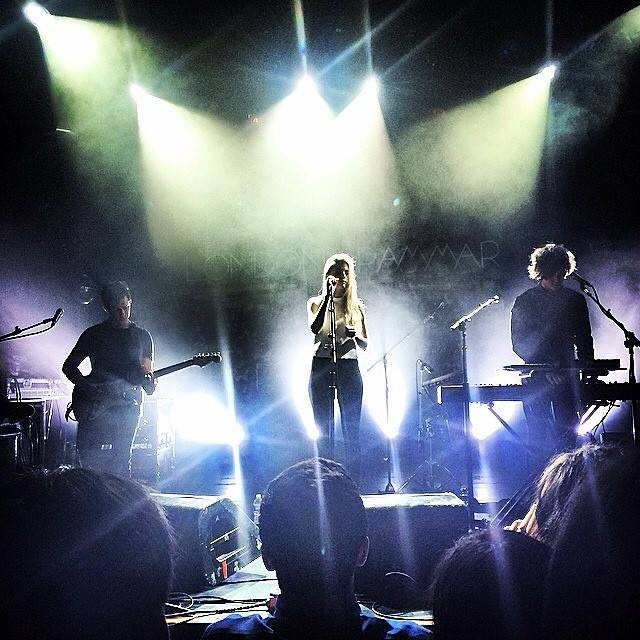 London Grammar stage show