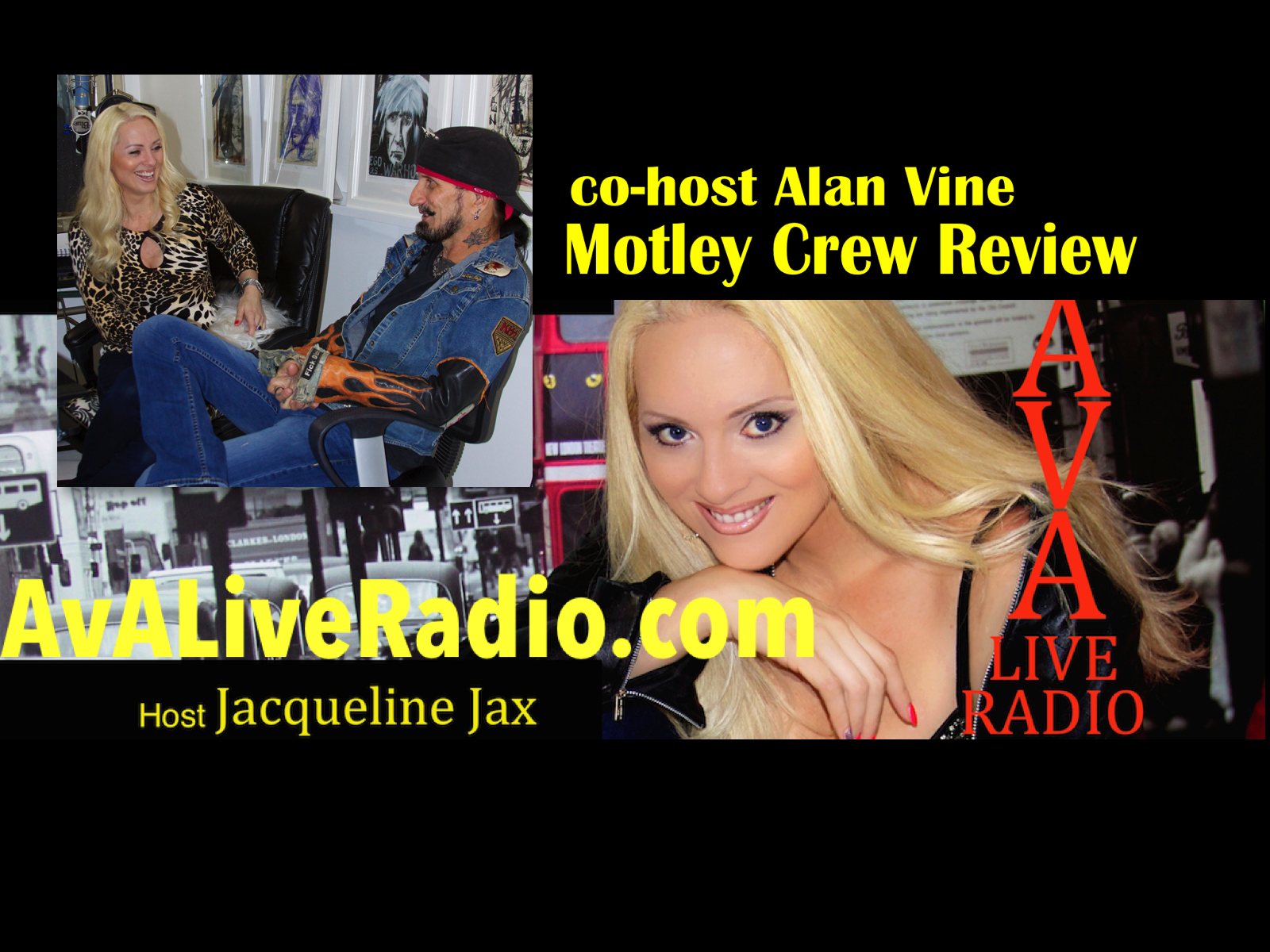 {Behind The Music with Jacqueline Jax} co-host Alan Vine Talks Motley Crew