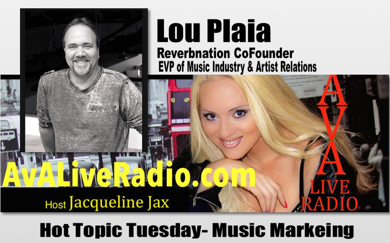 Hot Topic Tuesday: Reverbnation Co-Founder Lou Plaia Talks Music Marketing