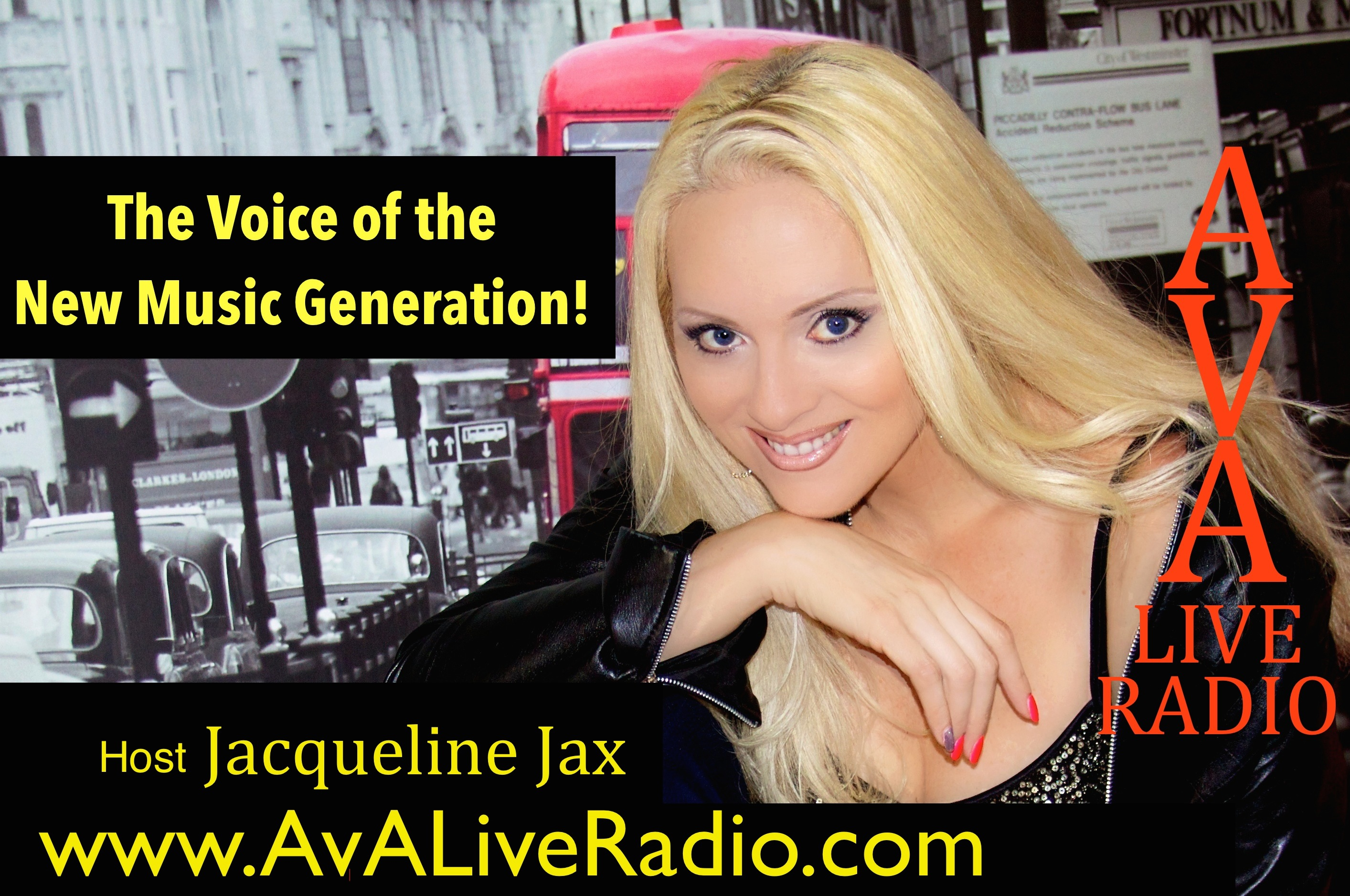Episode #249 : A.V.A Live Radio Behind The Music with Jacqueline Jax