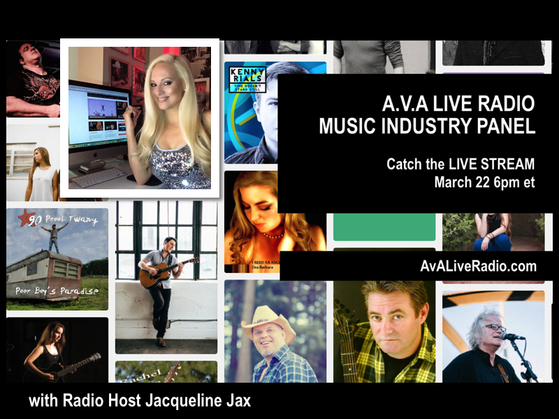 A.V.A Live Radio LIVE STREAMING 2016: Indie Music Industry & Marketing Panel