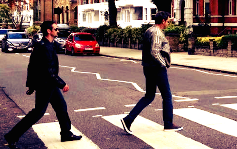 Abbey Road Crossing Mourning Stone
