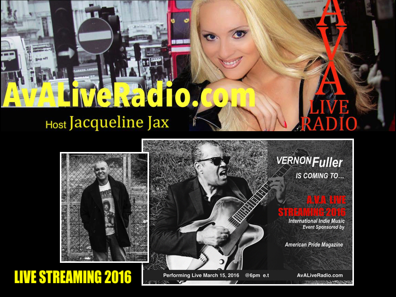 Vernon Fuller is Coming to A.V.A Live Streaming 2016 with Jacqueline Jax