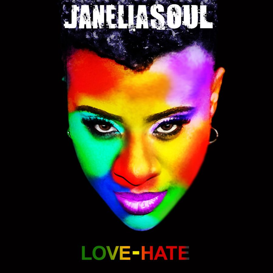 JaneliaSoul LOVE-HATE Album Cover
