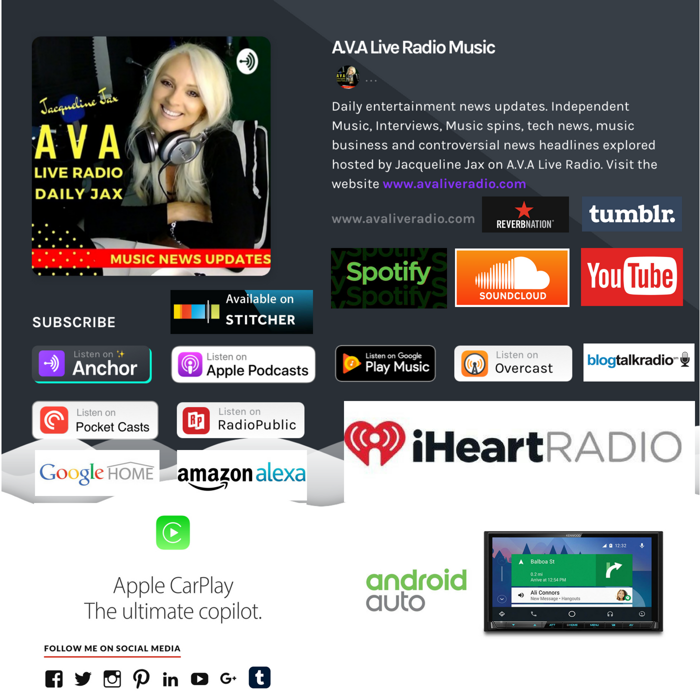 AVA Live Radio Joins the iHeartRadio Broadcasting Family