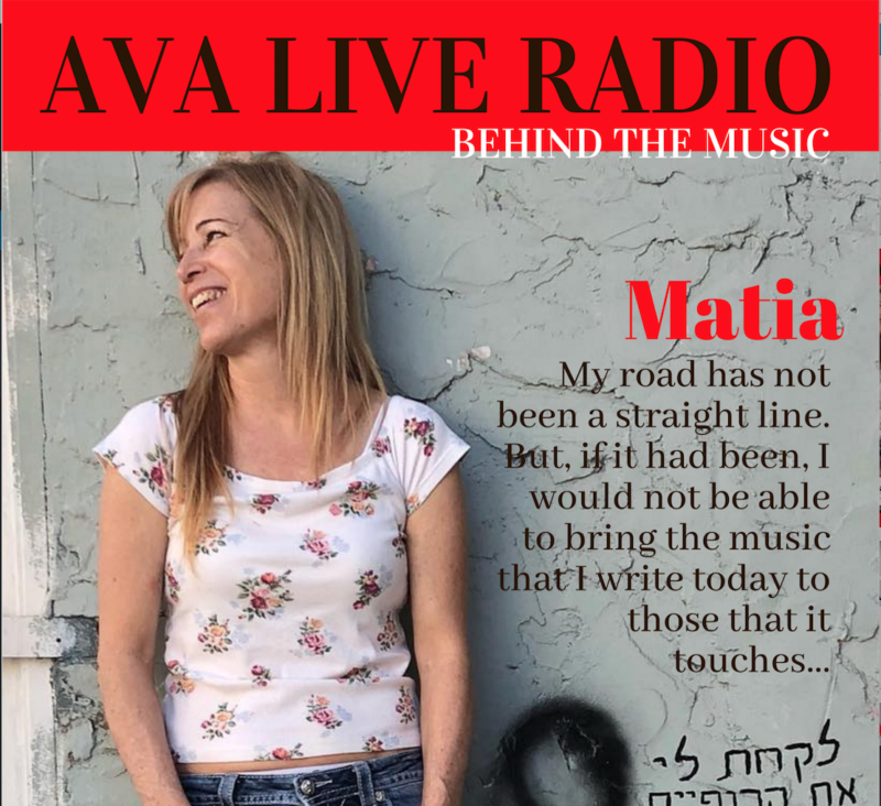 Behind the Music with Matia on Standing In The Sky