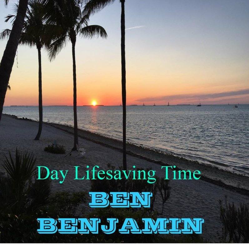 New Country Music Single from Ben Benjamin 'Day Lifesaving Time'