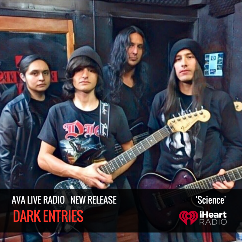 New Single from Rock Band Dark Entries 'Science'