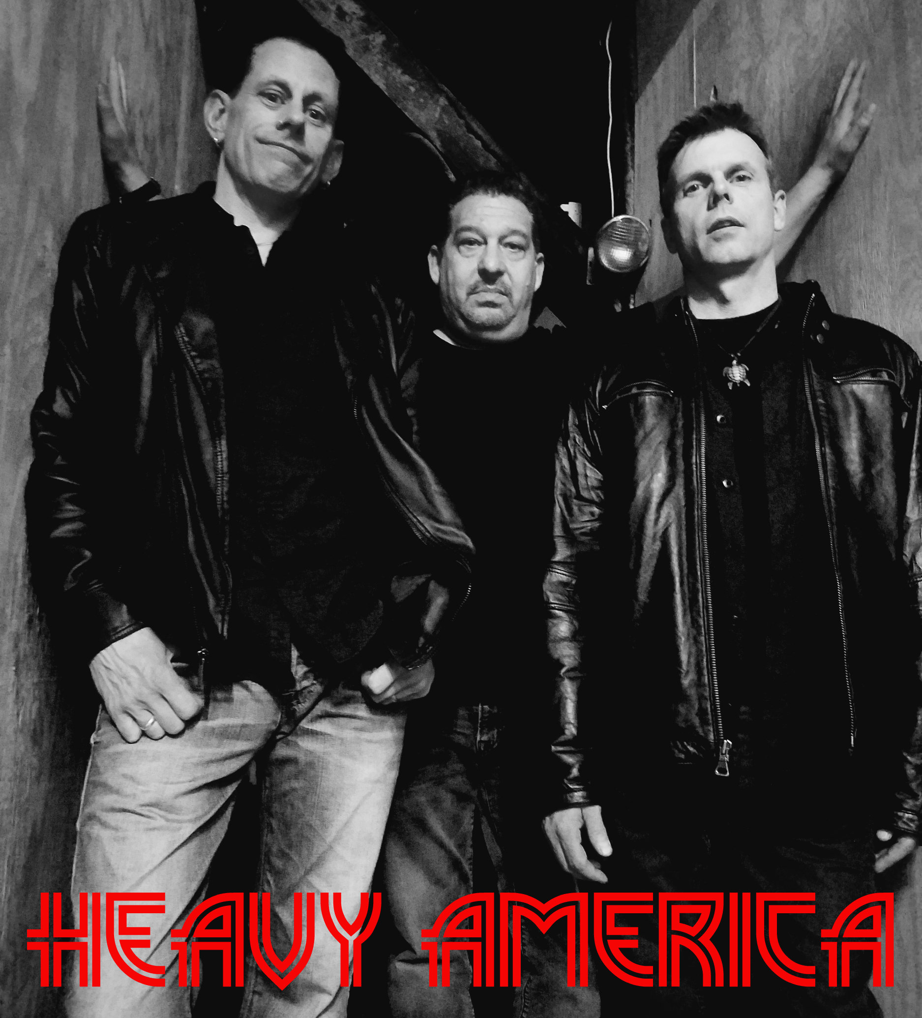 Rock Band Heavy AmericA releases New Song 'Heavy Eyes'